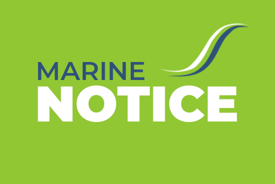 Marine Notice No.3 of 2021