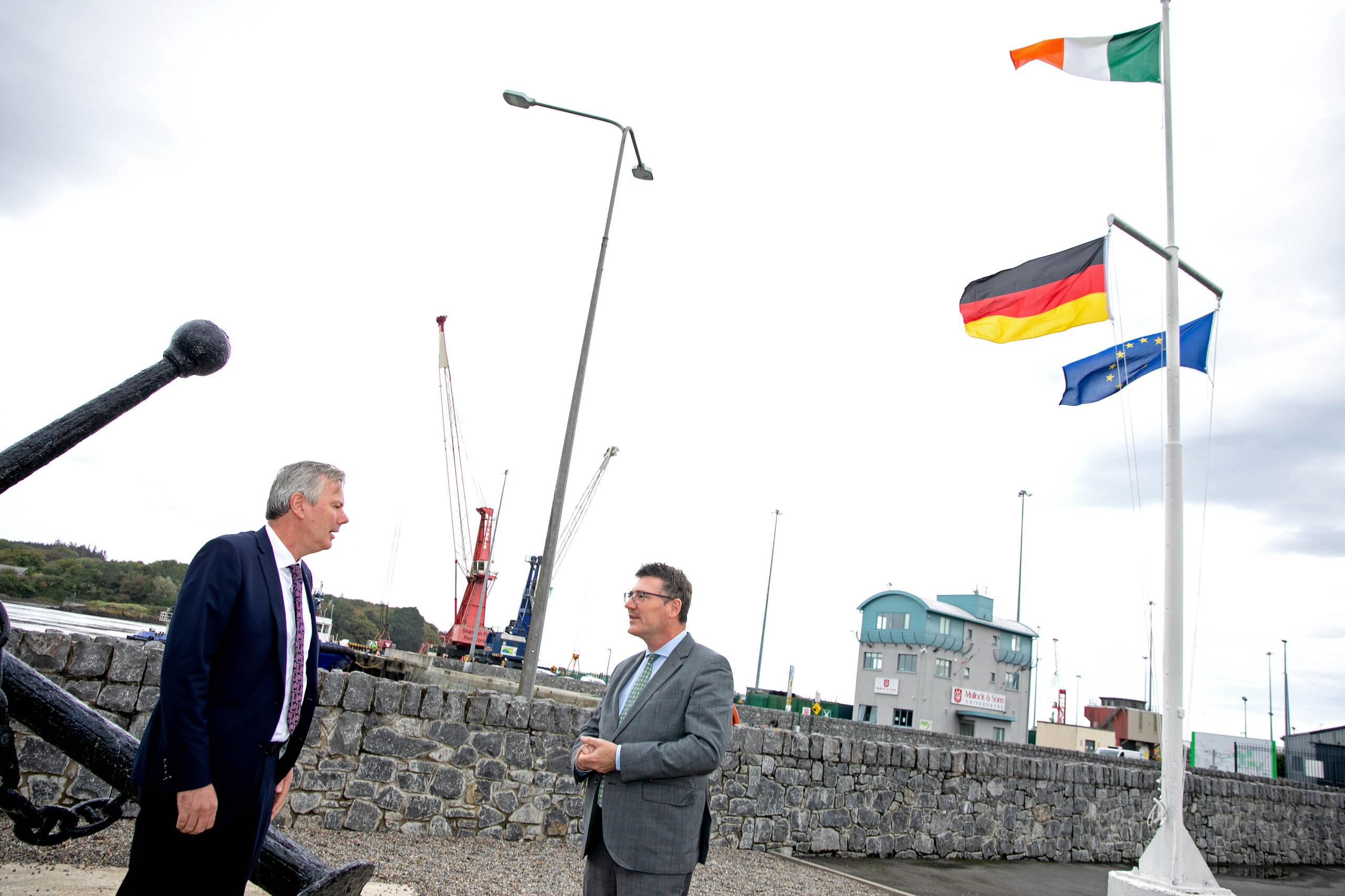 German Commissioner visits Shannon Foynes Port Company